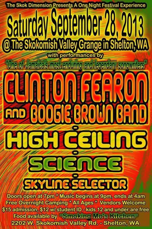 Big show at the Skokomish Valley Grange