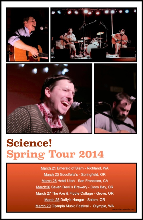 Science! Spring Tour 2014
